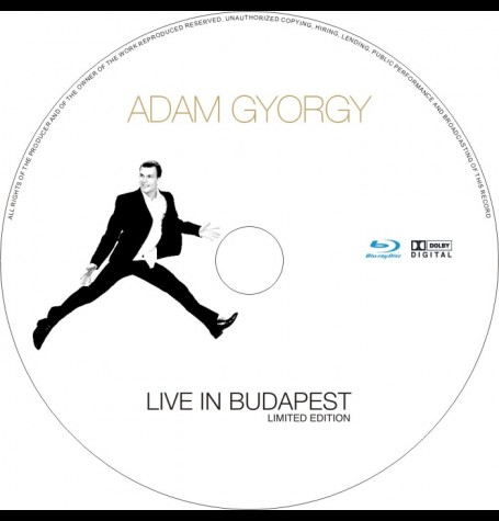 ADAM GYORGY live in Budapest DVD